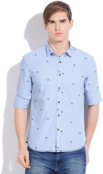 Flying Machine Men's Printed Casual Shirt