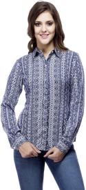 Ragdoll Women's Printed Casual Shirt