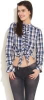 GAS Women's Checkered Casual Shirt