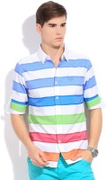 Status Quo Men's Striped Casual Shirt - SHTDXGK2GGHZF4FJ