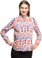Oxolloxo Women's Printed Casual Shirt - SHTEYX5HD6AX5JHF