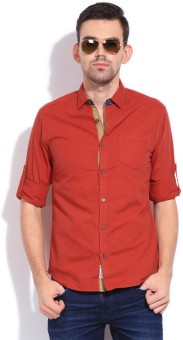 The Indian Garage Co. Men's Solid Casual Shirt - SHTDZEFKPT5UY5ZH