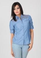 Numero Uno Women's Checkered Casual Shirt