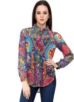Shilpkala Women's Printed Formal, Casual Shirt