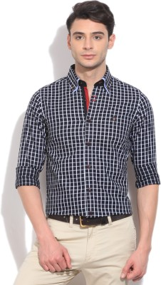 Mufti Mufti Men's Checkered Party Shirt