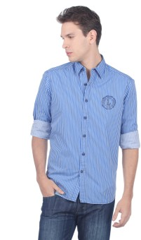 Lee Men's Striped Casual Shirt