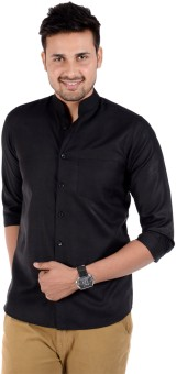 S9 Men Men's Solid Casual, Wedding, Party Shirt