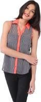 Purys Women's Striped Casual Shirt