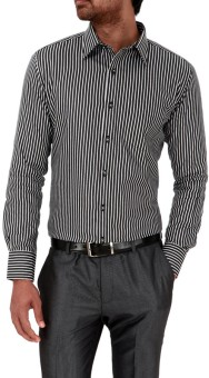 Genesis Genesis Men Striped Formal Shirt