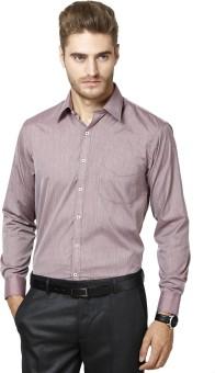 Richlook Men's Striped Formal Shirt
