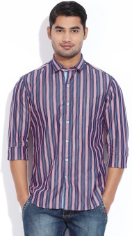 CODE CASUALS Men's Striped Casual Shirt
