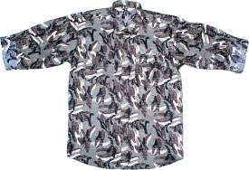 Bad Boys Boy's Printed Casual Shirt