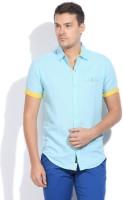 The Indian Garage Co. Men's Solid Casual Shirt - SHTDZEFKTDG44K73