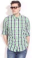 Basics Life Men's Checkered Casual Shirt