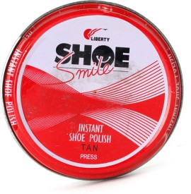 Liberty Shoe Smile Leather Shoe Wax Polish Tan