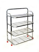 CORPORATE OVERSEAS Steel Standard Shoe Rack (4 Shelves)
