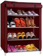 Pindia 4 Layer Shoe Rack Organizer