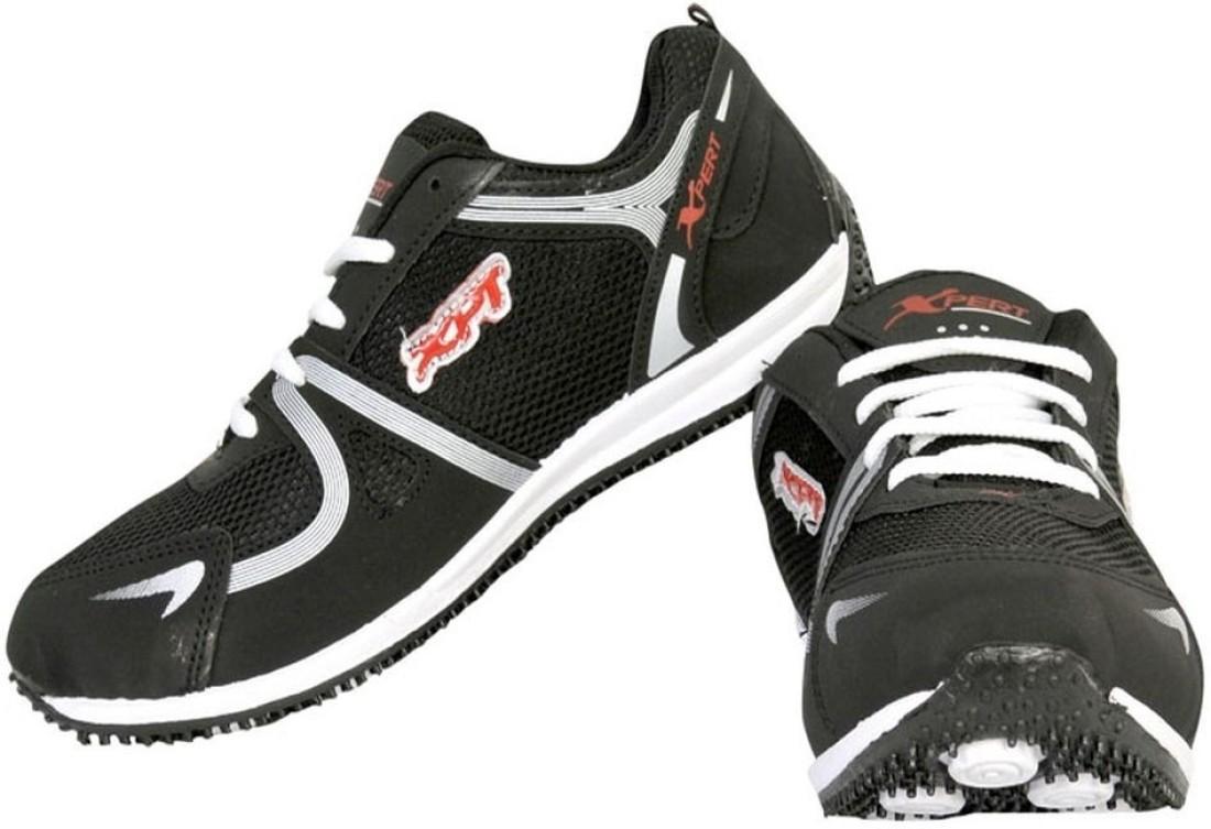 Xpert Doga 5 Black Running Shoes