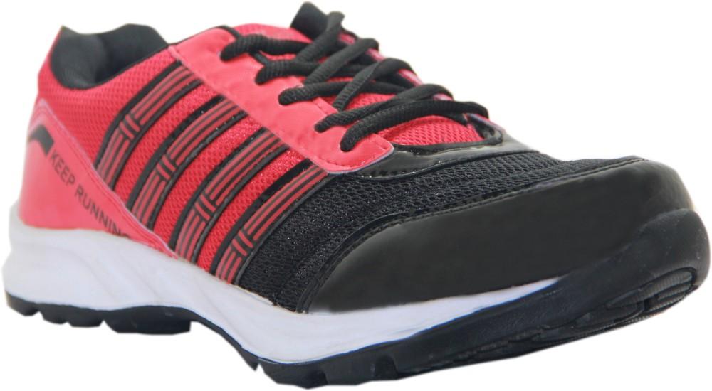 Stepin Soles Galaxy 3 RedBlack Running Shoes