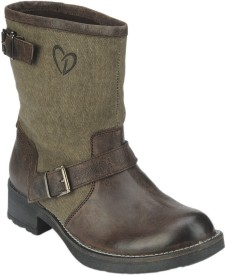 Delize BKR-303A-Brown Boots