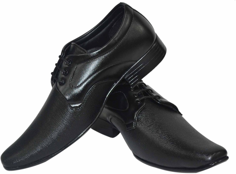 Human Steps Shining Lace Up Shoes