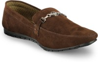 Zentaa Stylish Loafers Shoes ZTA-ONLS-085 Loafers Brown