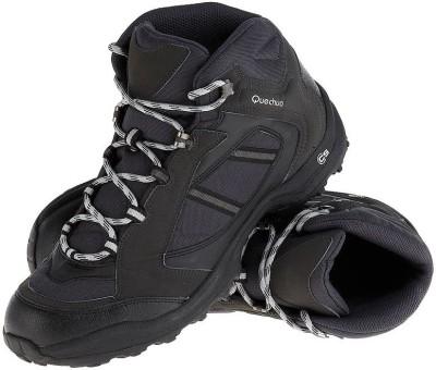Quechua Forclaz Black Hiking & Trekking Shoes