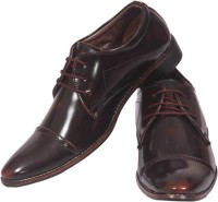 Limerence Amerigo Brown Pure Leather Lace Up Shoes