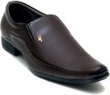 Oora Brown Kseries Pum Slip On Shoes