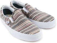 VANS CLASSIC SLIP-ON Loafers Beige, Grey