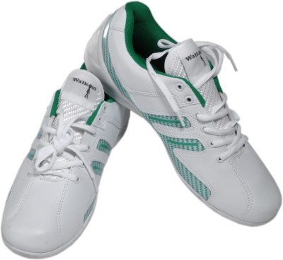 Walkout Walkout White and Green Sport Sneakers