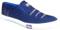 K-NINE K9 Blue Slio On Canvas Casual Shoes For Men's Casuals Blue