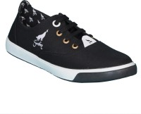 Smoky Canvas Black Stylish Shoes Canvas Shoes Black