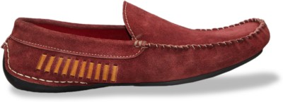 Brown Hawk Loafers