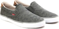 Levi's Justin slip on Canvas Shoes
