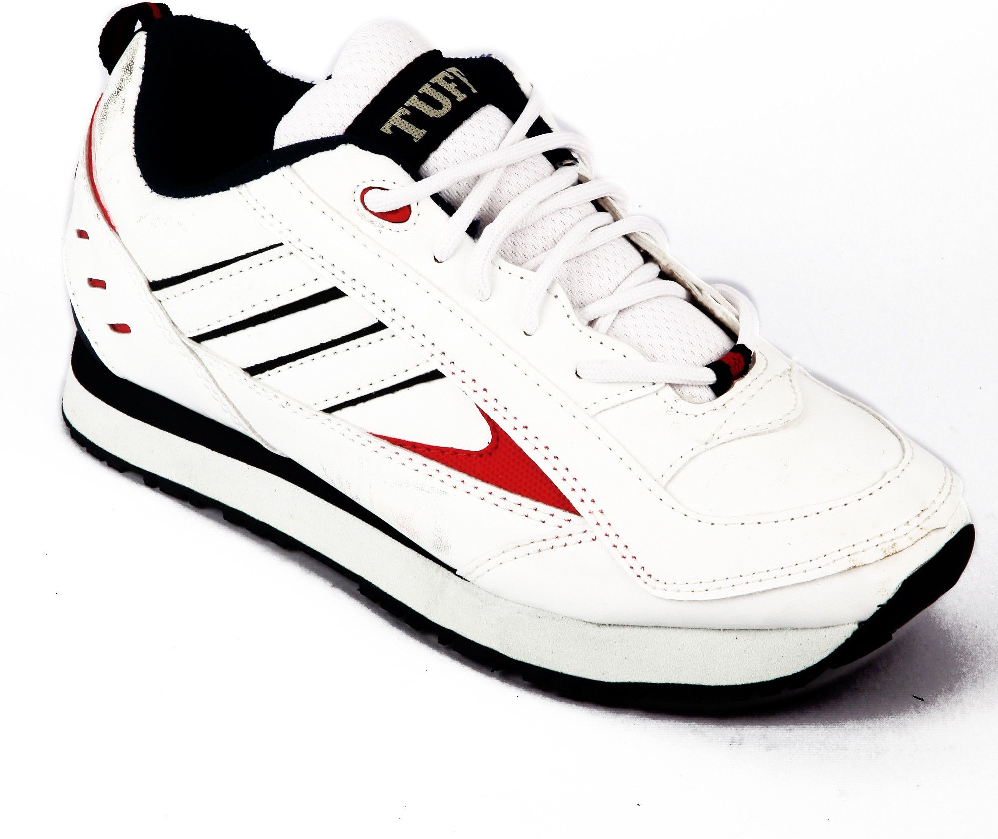 Shoes - Buy White Color Tuffs White Sports Running Shoes Online ...