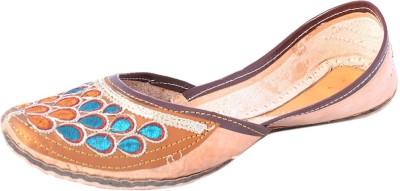 DFR Traditional Rajasthani Jutti -Drop Shape Design Jutis