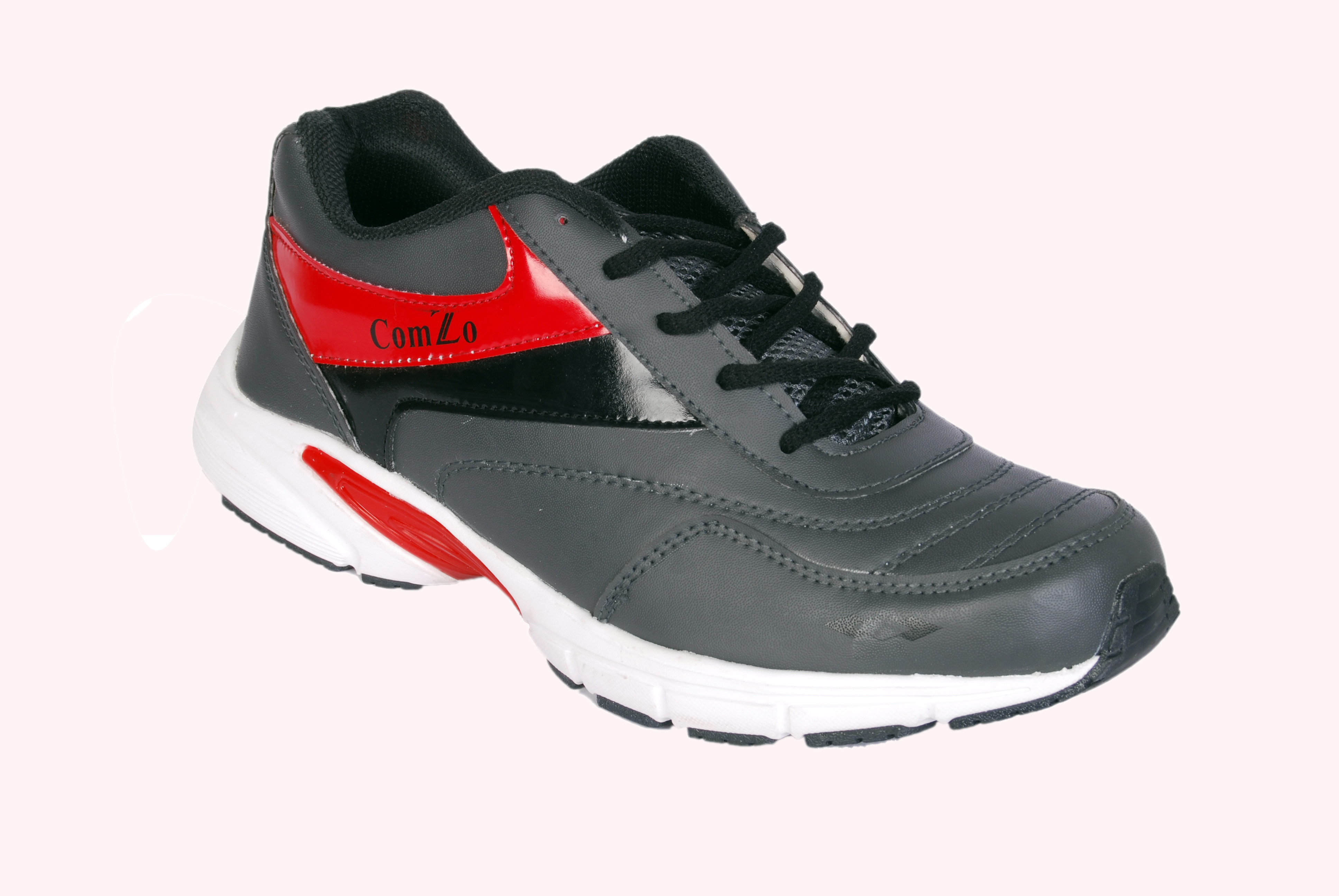 Comzo Exotic White Running Shoes
