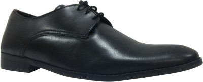 Sleek Sleek Office Lace Up Shoes (Black)