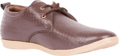 Brandley Croc_Coffee Casual Shoes