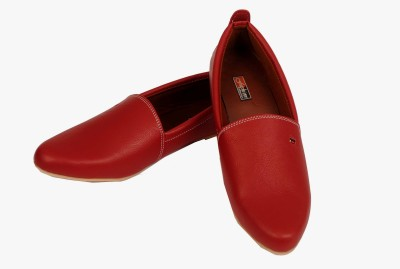 Fashion Fashion Leather Look Driving Shoes (Red)