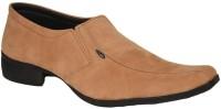 Just Flats Mens Tan Formals Slip On Shoes