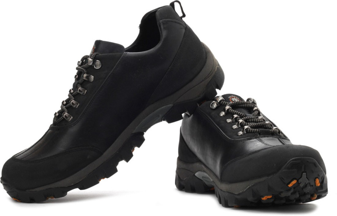 Woodland Outdoor Shoes - Buy Black Color Woodland Outdoor ...