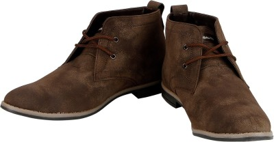 Globalite Tycoon Dark Brown Casual Shoes