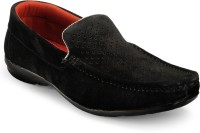 Zentaa Stylish Loafers Shoes ZTA-ONLS-069 Loafers Black