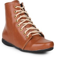 Do Bhai Ankle-Boot-Tan Boots