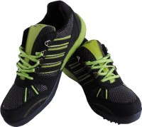 Lancer Sweden_black & Green Sport Running Shoes