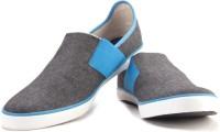 Puma Lazy Slip On II DP Men Canvas Shoes Blue, Grey