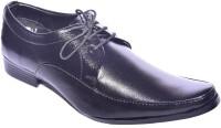 Klinga Men's Black Lace Up Shoes