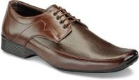 Yepme Men-Brown Lace Up Shoes
